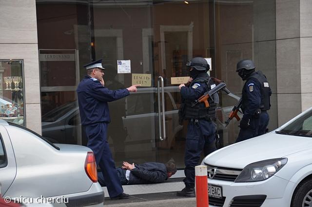 Interventie Jandarmerie © Nicu Cherciu - 06